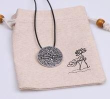 Кулон с изображением дерева жизни kybalion ожерелье надписью