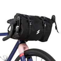 Bicycle Basket Handlebar Bag for Mountain Bike Outdoor Cycling Front frame bag black Handlebar Basket Pack Front Frame