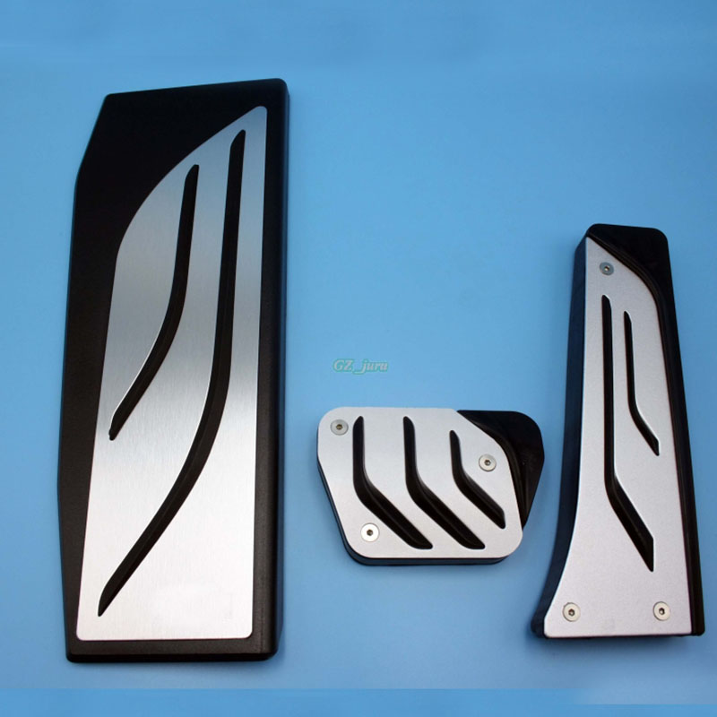 No Drill Gas Fuel Brake Footrest Pedal Plate Pad AT For BMW F30 F31 316i 318d 318i 320i 328i 335i 1 3 4 5 7 series