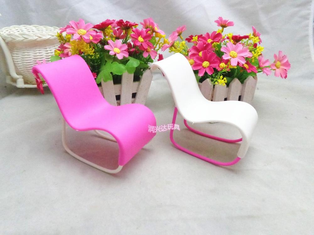 2pcs/set Rocking Beach Lounge Chair for Doll Chairs Dream House ...