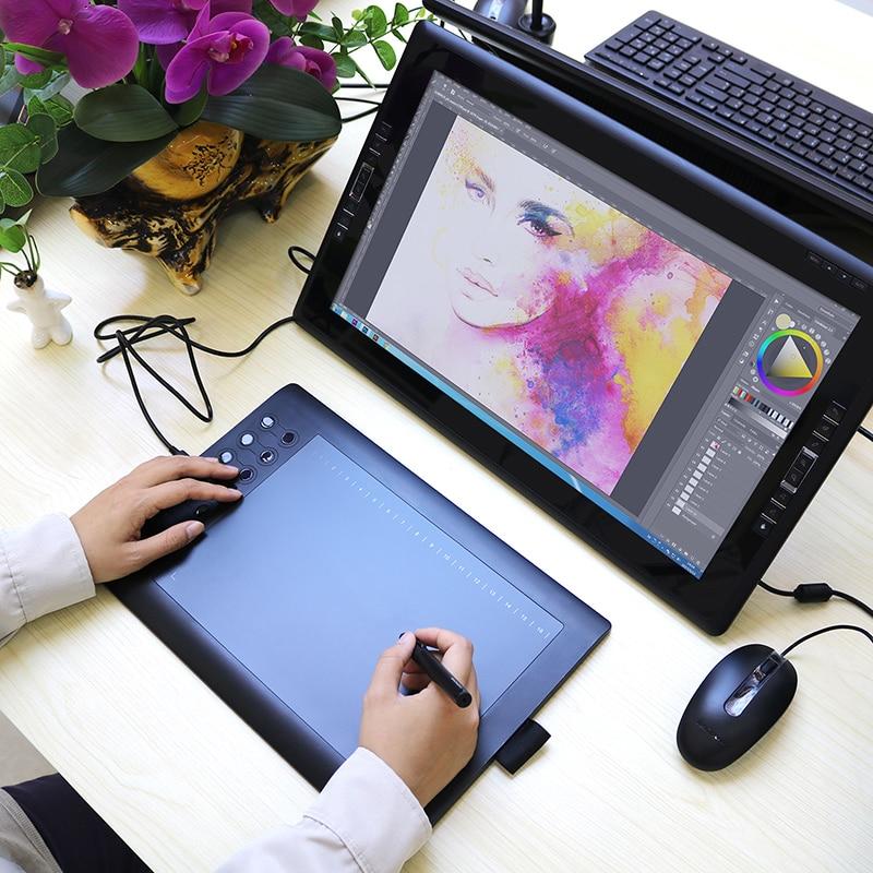 GAOMON M106K 12 HotKey Qrafik Rəsm Tablet İncəsənət Boyama - Kompüter periferikler - Fotoqrafiya 4