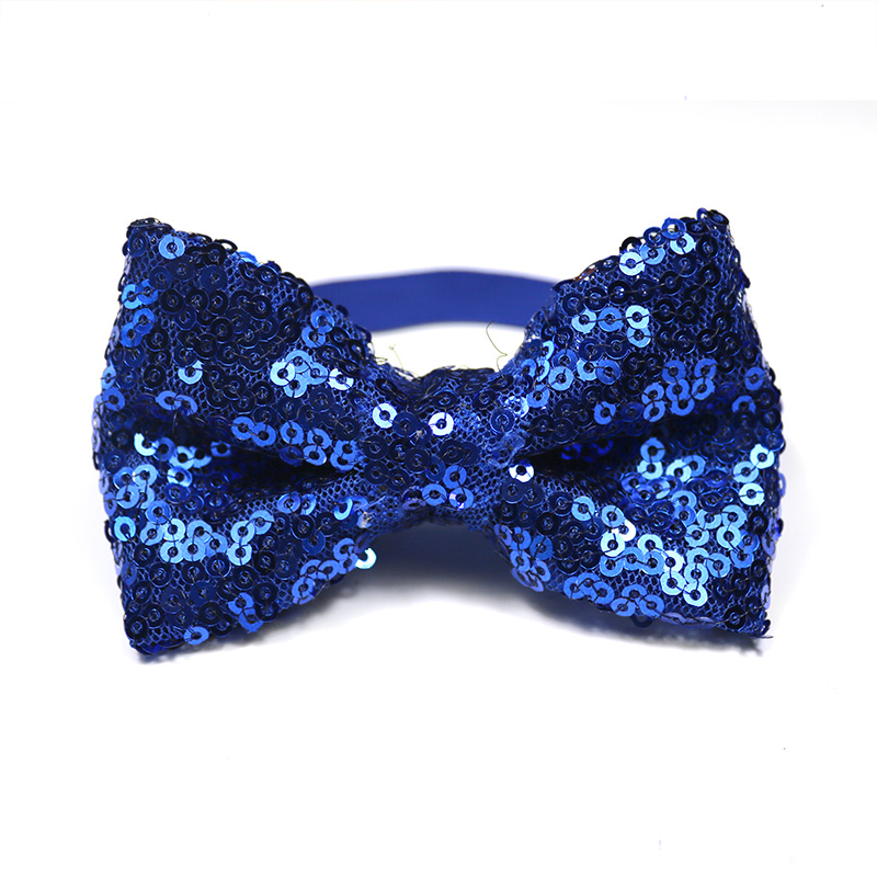 60PCS Pet Dog Cat Puppy Bow Ties Adjustable Shinning Sequins Bowknot Dog Bowties Dog Grooming Bows Dog Accessories Pet Supplies