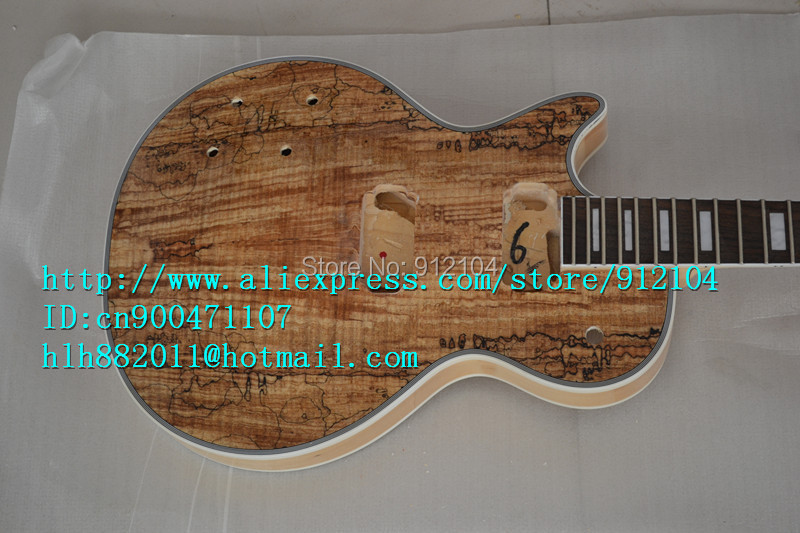 free shipping new Big John unfinished left hand electric guitar in natural color with mahogany body diy your guitar  F-1195 free shipping new big john lp electric guitar in blue with mahogany body 1049