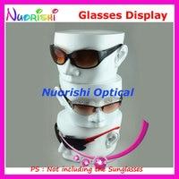 80b935995b434d ... Head Mold Display Stands Model For Optical Eyeglass Sunglasses Eyewear  Glasses Store Shop. Bekijk Aanbieding. Acryl 5 Tier Brillen Zonnebril  Standhouder