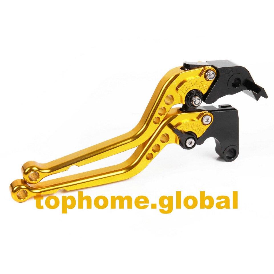 GUAIMI Motorcycle CNC Long Adjustable Brake Clutch Levers For Triumph Tiger 1200 Explorer 12-14 Trophy//SE 13-14