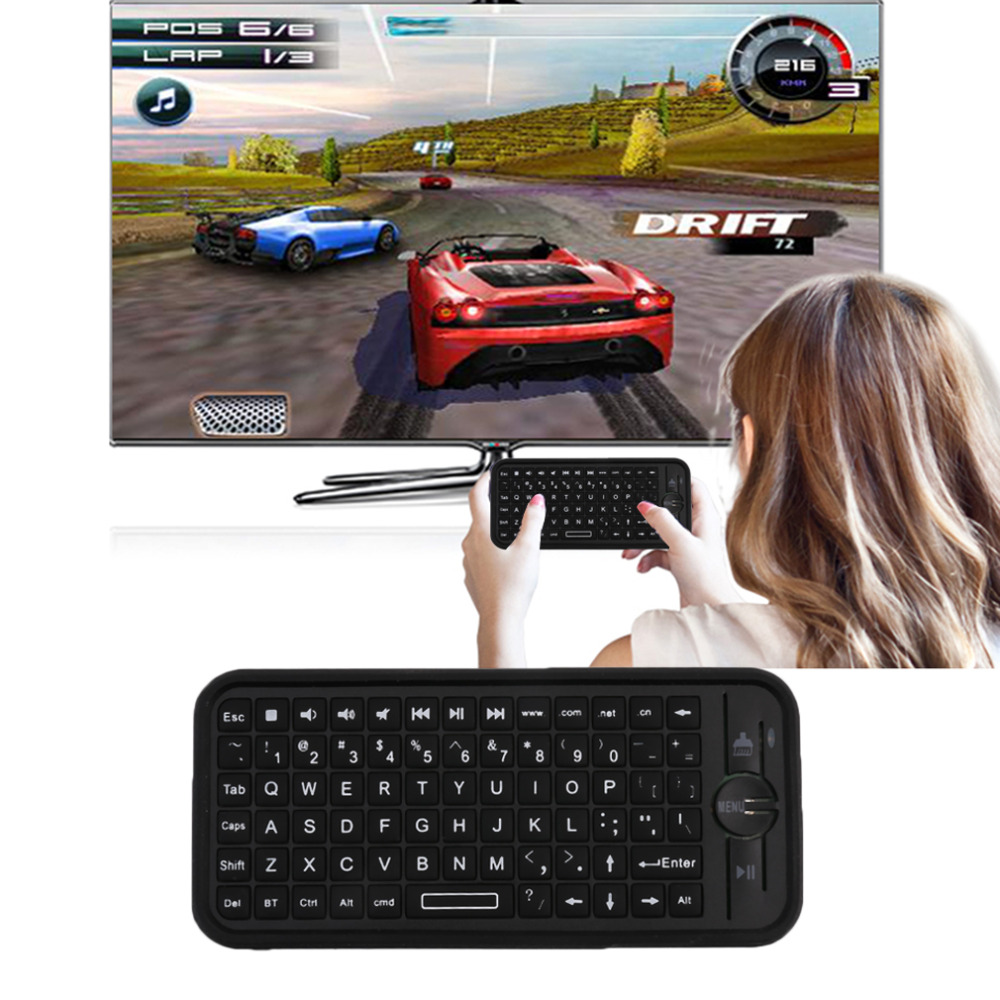 iPazzPort KP-810-16B Mini Size Wireless Bluetooth 3.0 Keyboard Small Portable Handheld Keyboard For Android For IOS Hot Sale