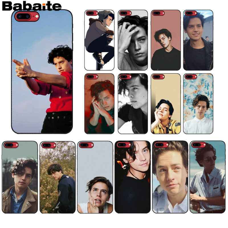 Babaite riverdale cole sprouse Jughead Jones Soft Silicone Phone Case Cover for iPhone 6S 6plus 7 7plus 8 8Plus X Xs MAX 5 5S XR