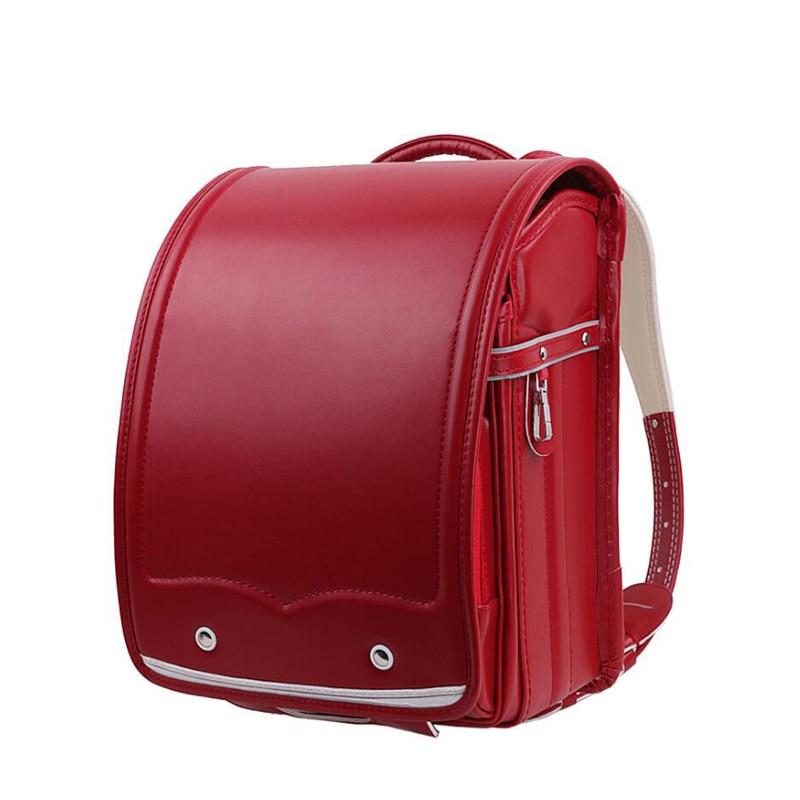 2019 NEW kids School Bag Children Orthopedic Backpack For student waterproof PU School Bag for Teenage