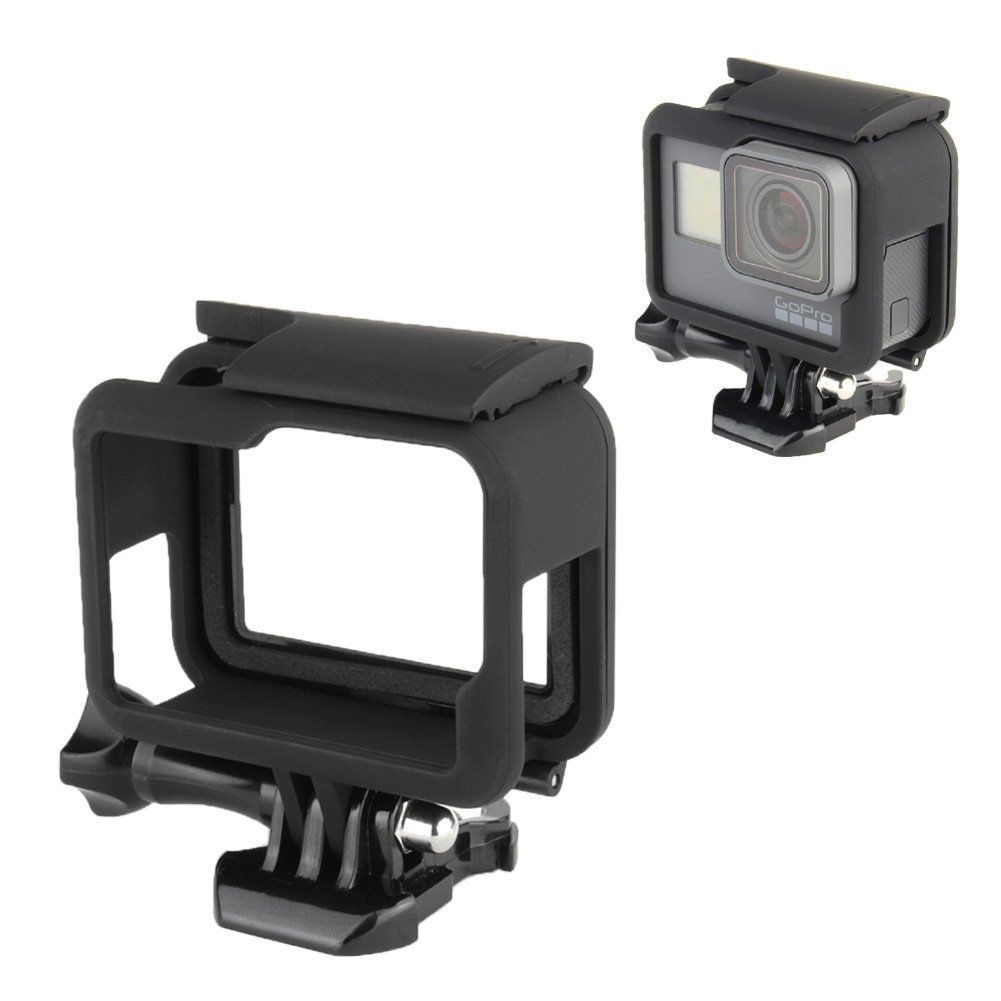 Heimelektronik Zubehör Für Gopro5 Hero5 Seite Offen Protector Tragbare Sport Kamera Schutzhülle Mikrofonstativ biostore