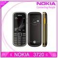 Reformado desbloqueado teléfono móvil con teclado ruso nokia 3720 3720 classic nokia cámara de 2mp teléfono celular freeshipping