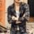 Suéteres para hombre macho con cuello en V otoño Cardigan Géneros de Punto Suéter Delgado Ocasional de los hombres de Arce imprimir marca cardigan masculino 2016 nueva primavera