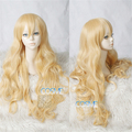 Beauty Forever Hair Shigatsu wa Kimi no Uso Kaori Miyazono Golden Wavy Curly Wig Your Lie in April Kawori Anime Cosplay Wig Hair