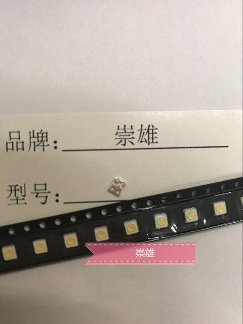 1000 шт., светодиодные подсветки для телевизора SAMSUNG, 1 Вт, 3537, 3535 лм