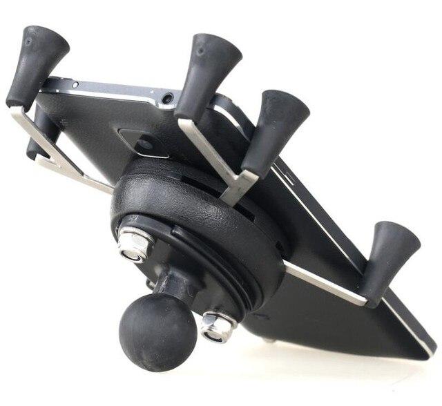 Xe máy Webgrip x Kẹp Gắn với 1 inch Bóng Kim cương Giá đỡ điện thoại cho RAM gắn và điện thoại thông minh