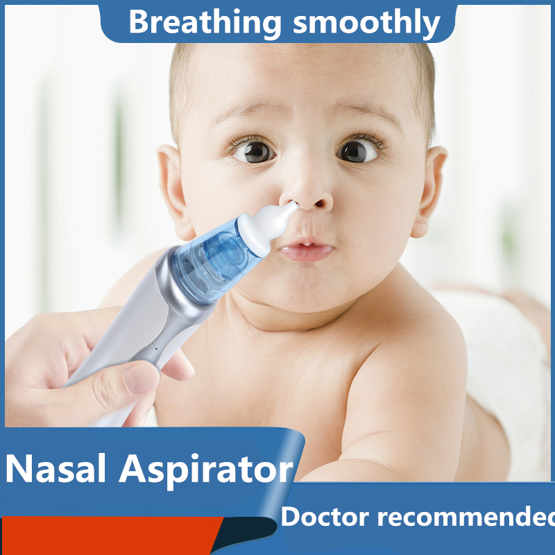 2019 Electric Baby Nasal Aspirator Snot Drops Newborns Nose Cleaner Newborn Nail Wash