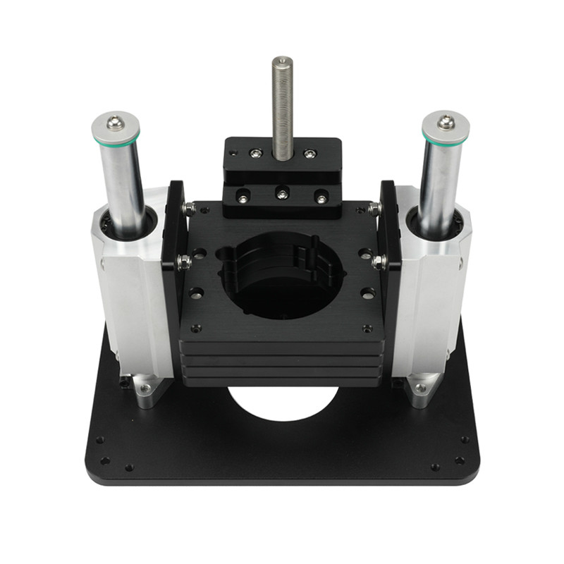 Heavy Duty Router Lift With Aluminium Router Insert Plate, Precision Router Table Mount Lift Flip Chip