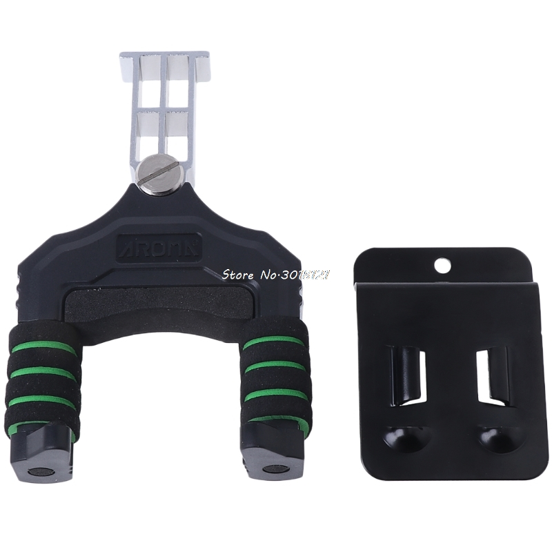 Guitar Ukulele Bass Mount Holder Wall Bracket Hooks Hanger Aluminum Hook Rack