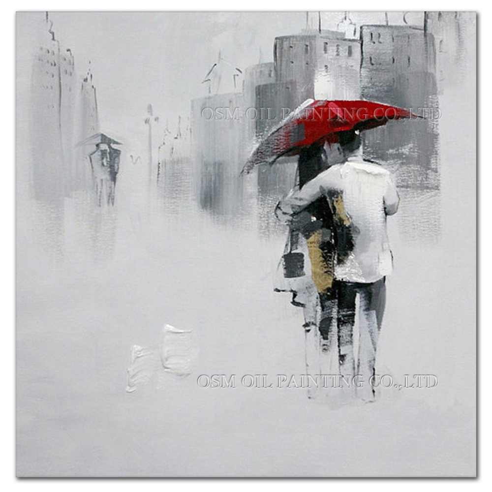 Obtenir en ligne bon march gris peinture abstraite for Peinture a lhuile couleur argent