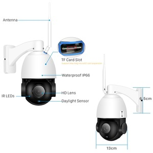 Image 4 - BESDER 1080P 30X זום חיצוני Wifi IP מצלמה PTZ מהירות כיפת מצלמה 80M ראיית לילה Motion לזהות שני דרך אודיו IP65 עמיד למים
