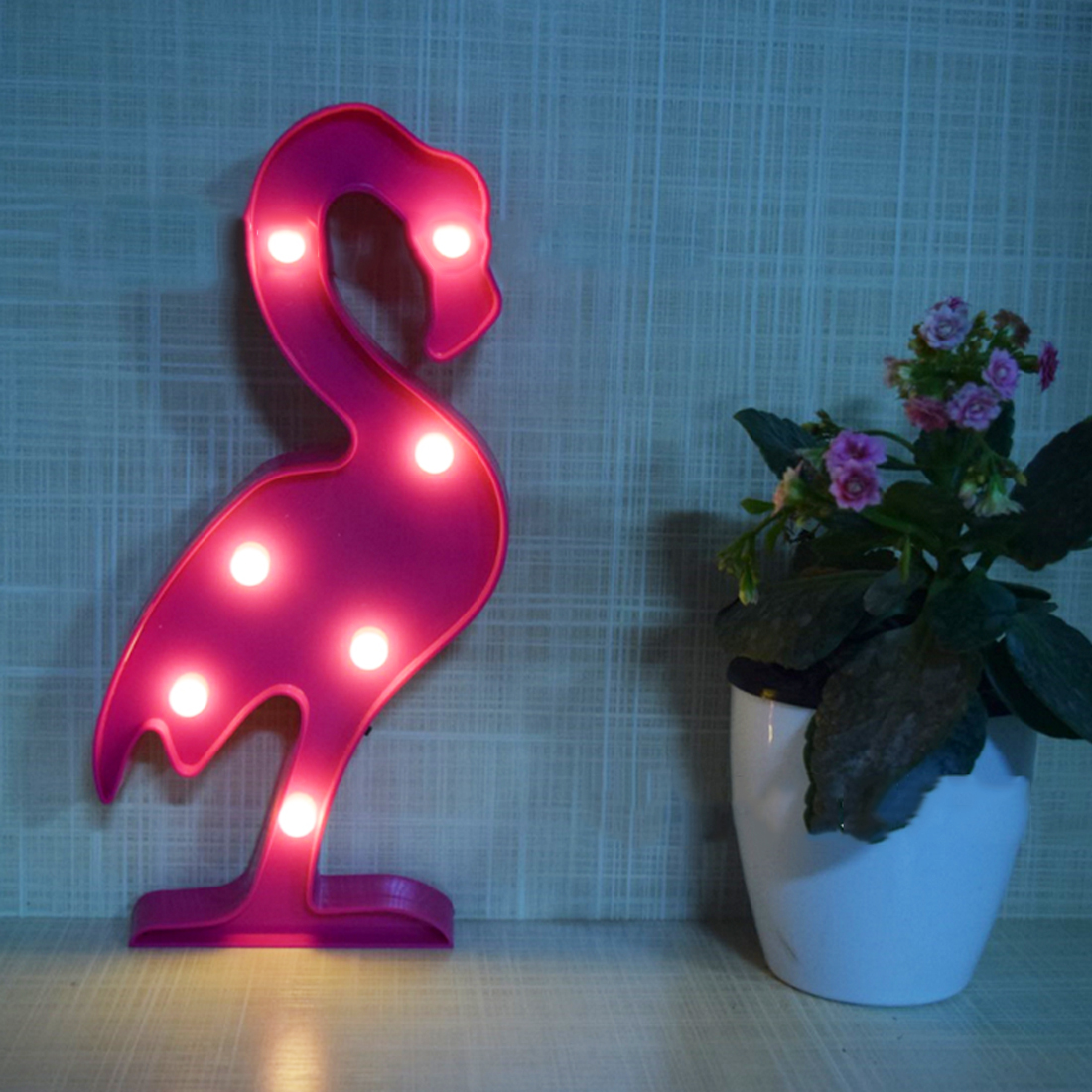 Luminary 3D LED Flamingo Lamp Pineapple Cactus Clouds Nightlight Romantic Light Table Lamp For Christmas Decorations Home Decor