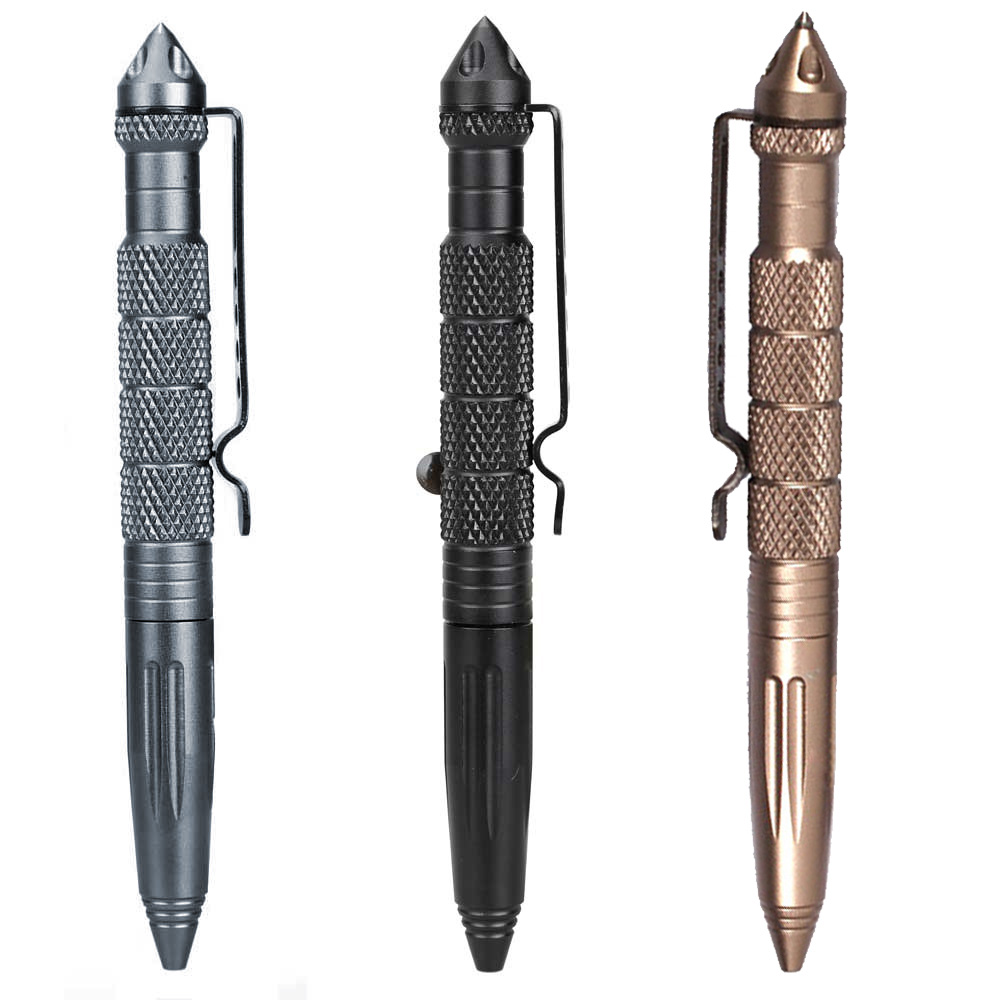 Pen Aviation Aluminum Self Defense Portable EDC Tool For Outdoors Survival DJA99