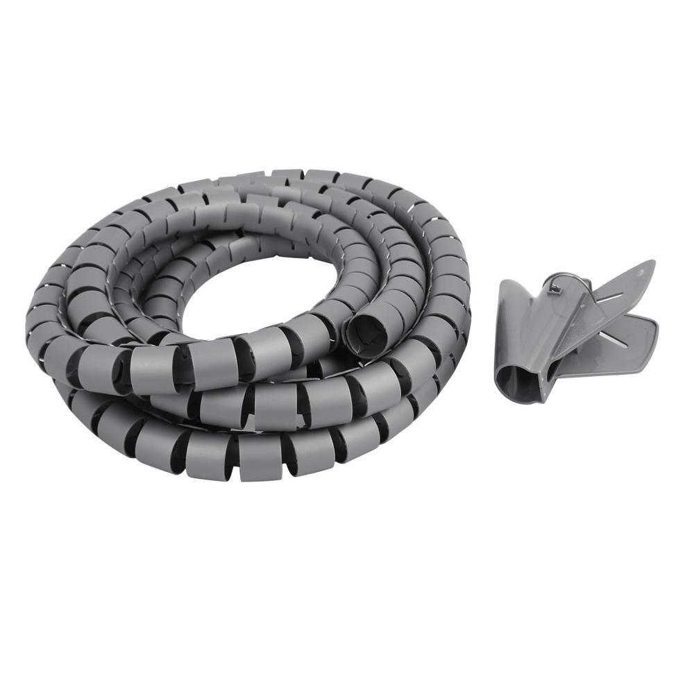 3 mt Länge 30mm Durchmesser Spirale Draht Veranstalter Wrap Rohr ...