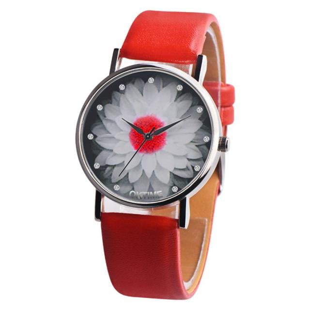 watches ladies watch hot 2018 Selling fashion Special Pattern Casual chic leathe
