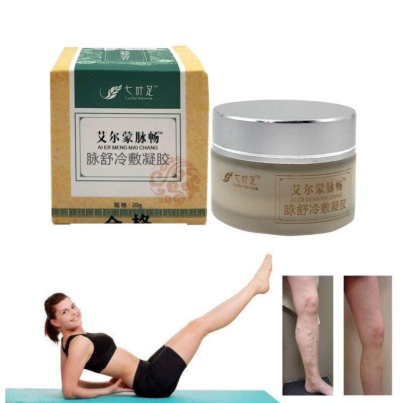 Varizes Creme De Tratamento de Vasinhos Varizes Médica Medicina Chinesa Ervas Veias Varicosas Pomada 20g