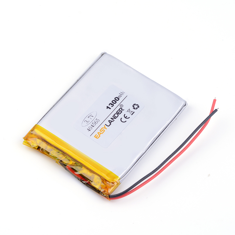 lithium ion batteries 3.7v 404565 1300MAH For tablet pc power bank PAD PSP E-book andori ...