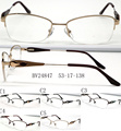 2016 New Cat Eye Woman Metal Glasses Frame with Handmade Tips Half Optical Eyeglass Frame Oculos De Grau 10pcs/lot wholesale