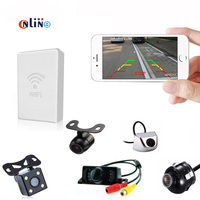Mobile Phone WIFI Connection Waterproof Car Parking Assistance View Camera HD CCD Car Rear View Camera