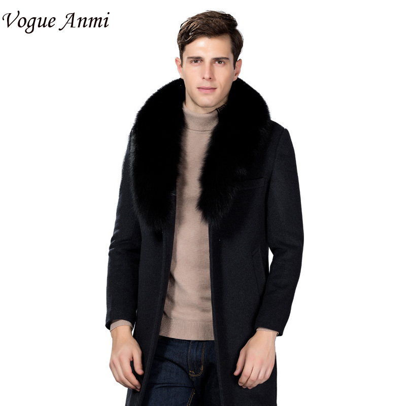 vogue anmi winter wool coat slim fit jackets fashion fox. Black Bedroom Furniture Sets. Home Design Ideas
