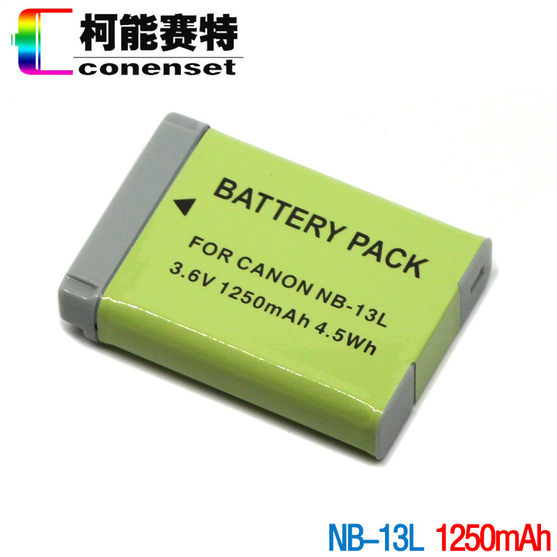 CONENSET NB 13L Battery for Canon PowerShot G5X G7X G9X and nb 13l Battery Charger