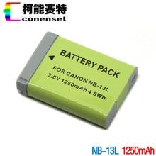 Bateria para Canon PowerShot NB-13L CONENSET G5X G7X G9X e nb-13l Carregador de Bateria
