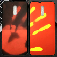 10pcs TPU Hot Cold Induction Color Change Fitted Phone Case Cover for Oneplus 6T 6 5T