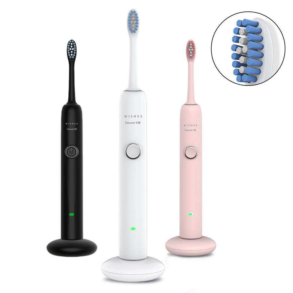 Electric Toothbrush Ultrasonic Automatic Sonic Electric Maglev Induction Third Gear Adjustment Usb Rechargeable Toothbrush