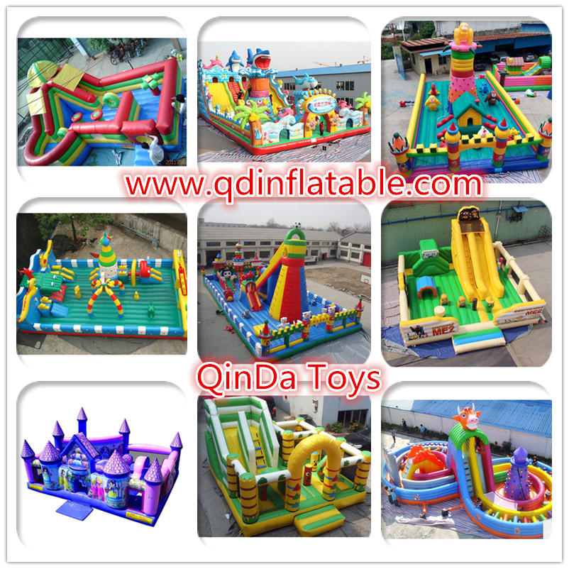 QinDa Toys Giant Inflatable Fun City (2)