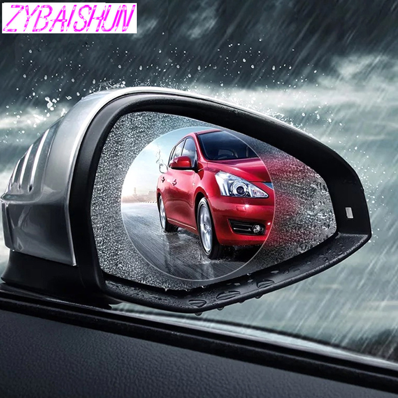 2018 новый автомобиль зеркало заднего вида водостойкая мембрана противотуманная Пленка Наклейки для Mitsubishi ASX Outlander Lancer Evolution Pajero