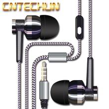 CNTECHUN X2G Pano Moda Microfone Microfone Do Fone De Ouvido fone de Ouvido Estéreo MP3 Fone de Ouvido Música Baixo Pesado Estéreo fone de Ouvido De Celular