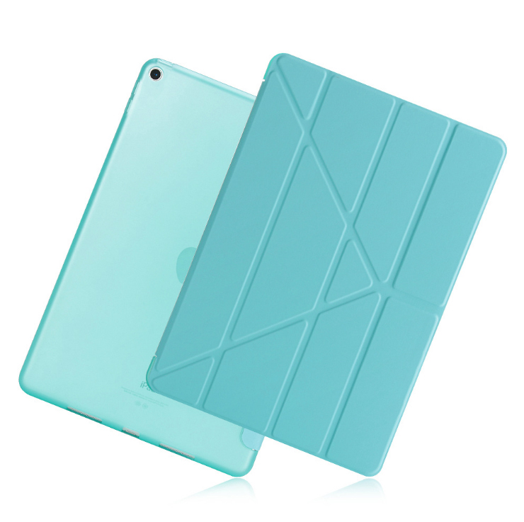 Case For Ipad 9.7 Inch 2017/(6Th Generation) PU Leather + TPU Rear Cover Smart Auto Sleep Wake Tablet Case For Ipad