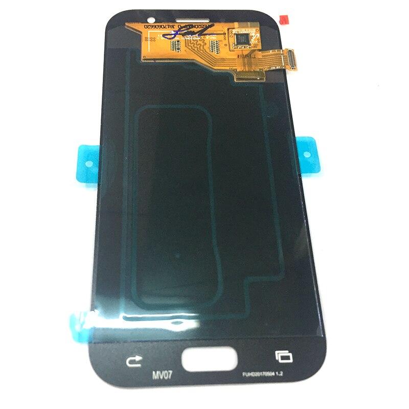 Ackoolla Экраны для телефонов для Samsung A5 2017 A520 A520F Аксессуары для мобильных телефонов Запчасти Экраны для телефонов Сенсорный экран кронштейн