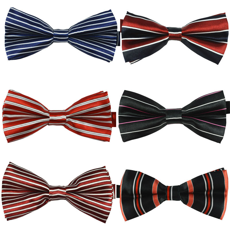 NEW Mans Classic Bowtie Fashion Neckwear Adjustable Men Wedding Bow Tie Polyester Bowties for man Free Shipping