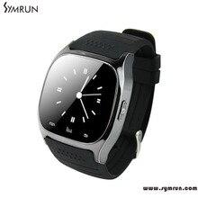Symrun Smart Bluetooth Uhr Smartwatch M26 Mit Led-anzeige Musik-player Schrittzähler Für Android Smart Uhr M26
