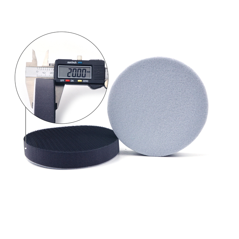 Image 3 - POLIWELL 5 Inch 125 mm Thickened Soft Sponge Interface Pad for Hook and Loop Sanding Disc Backing Buffering Pads (20MM Thick)-in Abrasive Tools from Tools