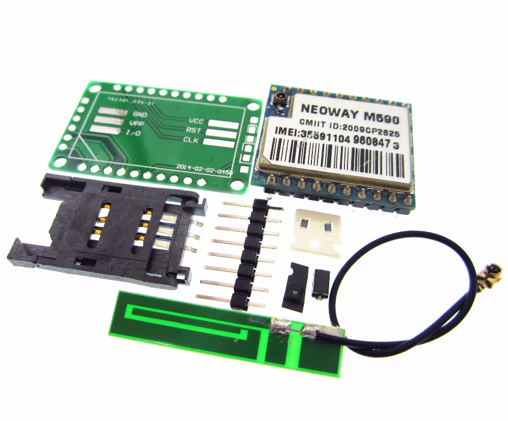 1kit DIY Kit GSM GPRS M590 gsm модуль коротких сообщений Услуги SMS модуль для проект дистанционного зондирования сигнализации