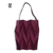Холст Складная хозяйственная сумка 2018 Новая мода Мода женщин Повседневная складная сумка Хаки Черный Красный