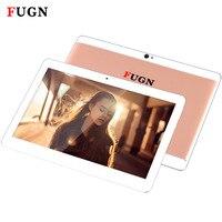 FUGN 10 '' Tablet Octa Çekirdek Android 6.0 3G Telefon Görüşmesi Tablet PC Wifi GPS Bluetooth Klavye ile 1920x1080 IPS 4G Akıllı TABLETLER 8