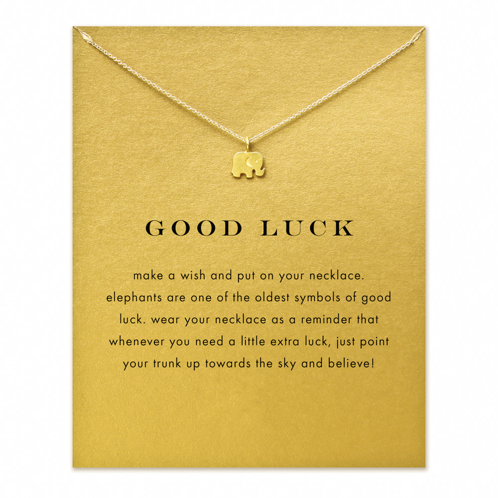 Buy good luck necklace and get free shipping on aliexpress buycottarizona