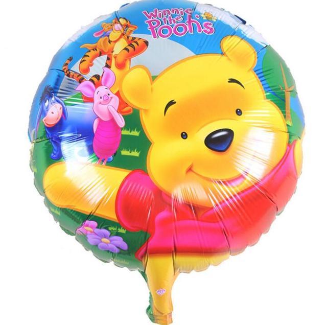 18 Inch Buon Compleanno Cartone Animato Winnie The Pooh Palloncino