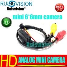 HD 800TVL 6*6MM mini analog diy module cctv camera for Home Security Surveillance video camera Free Shipping